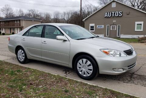2003 Toyota Camry for sale at Riverfront Auto Sales in Middletown OH