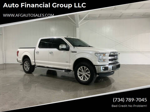 2016 Ford F-150 for sale at Auto Financial Group LLC in Flat Rock MI