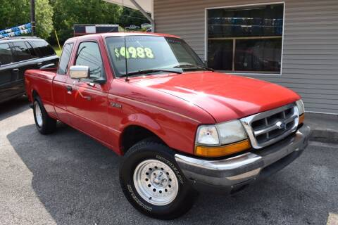 1999 Ford Ranger for sale at Gamble Motor Co in La Follette TN