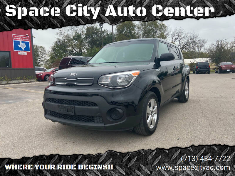 2017 Kia Soul for sale at Space City Auto Center in Houston TX