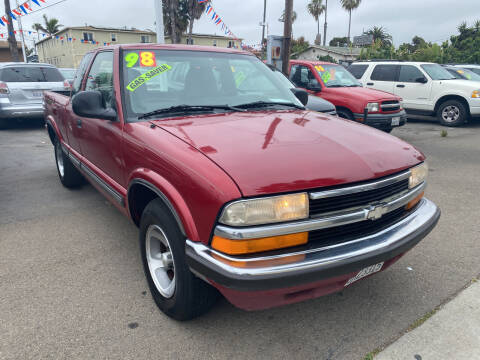 1998 Chevrolet S-10 for sale at North County Auto in Oceanside CA