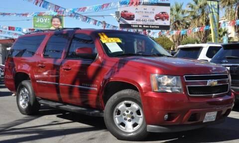2011 Chevrolet Suburban for sale at AMC Auto Sales, Inc in San Jose CA