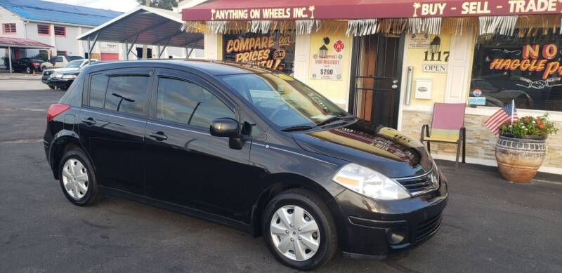 2012 Nissan Versa for sale at ANYTHING ON WHEELS INC in Deland FL