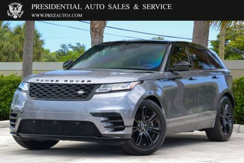 2020 Land Rover Range Rover Velar for sale at Presidential Auto  Sales & Service in Delray Beach FL