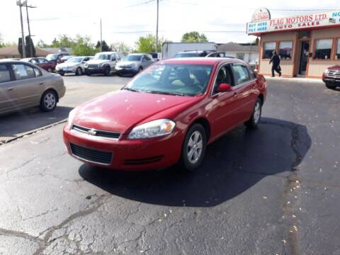 2008 Chevrolet Impala for sale at Flag Motors in Columbus OH