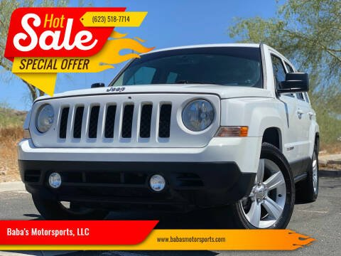 2014 Jeep Patriot for sale at Baba's Motorsports, LLC in Phoenix AZ