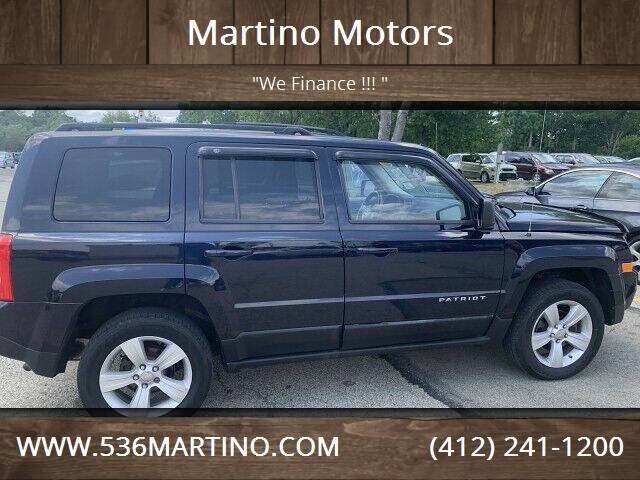 2011 Jeep Patriot for sale at Martino Motors in Pittsburgh PA
