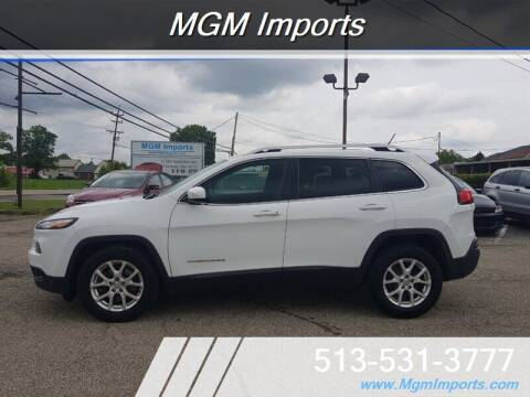 2014 Jeep Cherokee for sale at MGM Imports in Cincinnati OH
