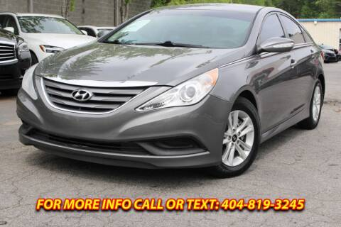 2014 Hyundai Sonata for sale at Five Brothers Auto Sales in Roswell GA
