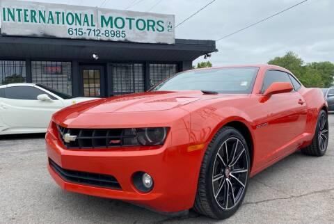 2012 Chevrolet Camaro for sale at International Motors Inc. in Nashville TN