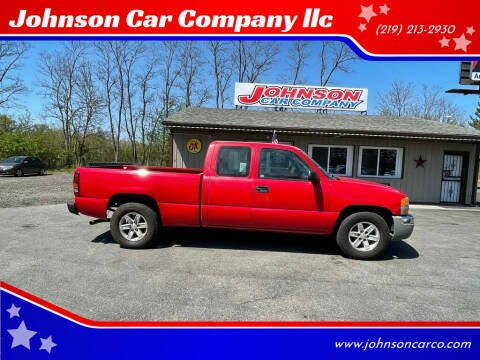 2007 GMC Sierra 1500 for sale at Johnson Car Company llc in Crown Point IN