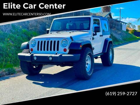 2008 Jeep Wrangler for sale at Elite Car Center in Spring Valley CA