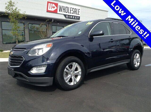 2016 Chevrolet Equinox for sale at Wholesale Direct in Wilmington NC