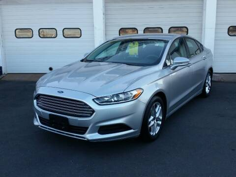 2013 Ford Fusion for sale at Action Automotive Inc in Berlin CT