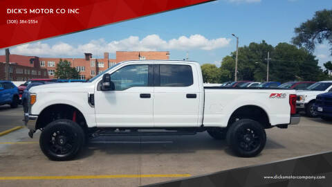 2017 Ford F-250 Super Duty for sale at DICK'S MOTOR CO INC in Grand Island NE