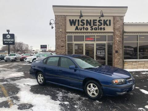 2003 Chevrolet Impala for sale at Wisneski Auto Sales, Inc. in Green Bay WI