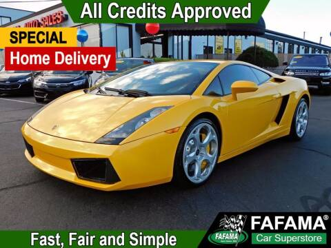 2005 Lamborghini Gallardo for sale at FAFAMA AUTO SALES Inc in Milford MA
