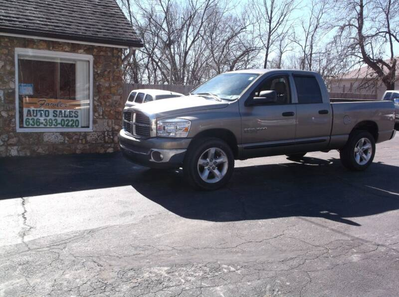 2006 Dodge Ram Pickup 1500 for sale at Fowler's Auto Sales in Pacific MO