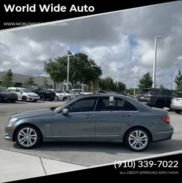 2012 Mercedes-Benz C-Class for sale at World Wide Auto in Fayetteville NC