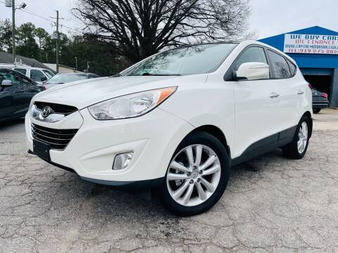 2011 Hyundai Tucson for sale at Capital Motors in Raleigh NC