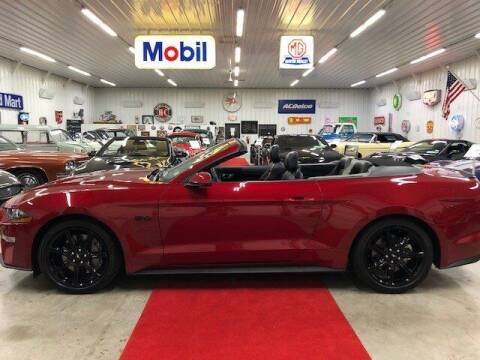 2020 Ford Mustang for sale at Masterpiece Motorcars in Germantown WI