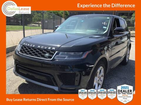 2018 Land Rover Range Rover Sport for sale at Dallas Auto Finance in Dallas TX