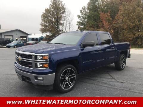 2014 Chevrolet Silverado 1500 for sale at WHITEWATER MOTOR CO in Milan IN