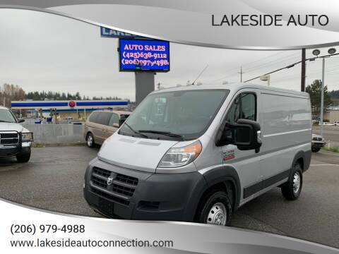 2016 RAM ProMaster Cargo for sale at Lakeside Auto in Lynnwood WA