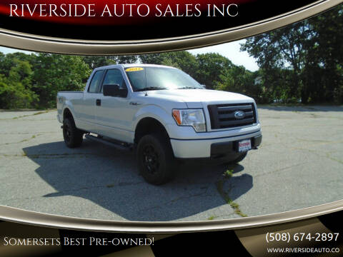 2011 Ford F-150 for sale at RIVERSIDE AUTO SALES INC in Somerset MA