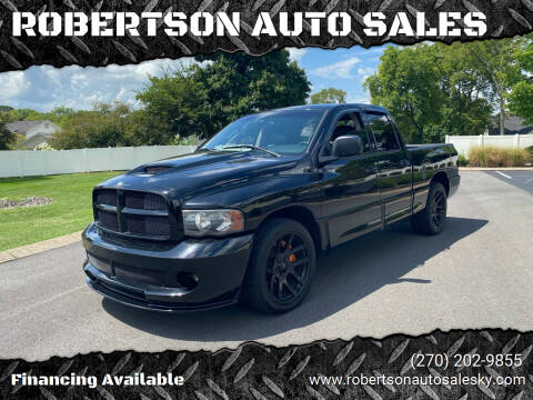 2005 Dodge Ram Pickup 1500 SRT-10 for sale at ROBERTSON AUTO SALES in Bowling Green KY