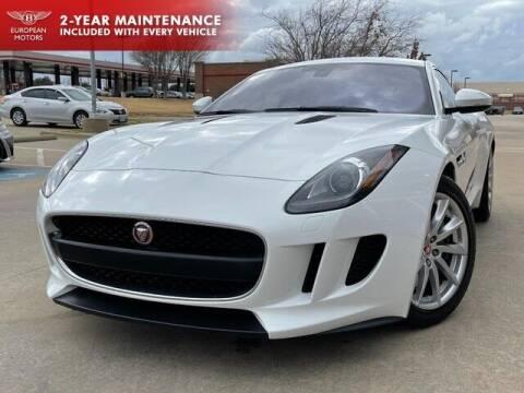 2017 Jaguar F-TYPE for sale at European Motors Inc in Plano TX