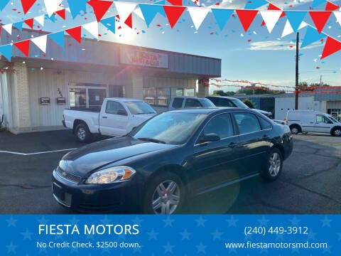 2012 Chevrolet Impala for sale at FIESTA MOTORS in Hagerstown MD
