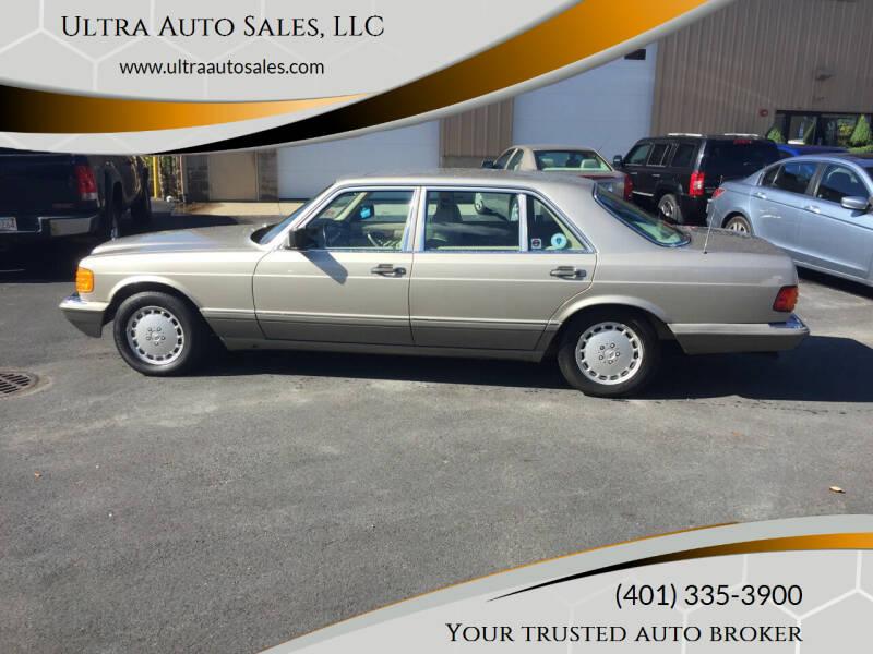 1991 Mercedes-Benz 560-Class for sale at Ultra Auto Sales, LLC in Cumberland RI