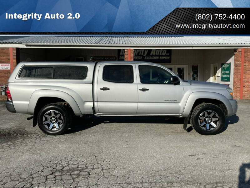 2010 Toyota Tacoma for sale at Integrity Auto 2.0 in Saint Albans VT