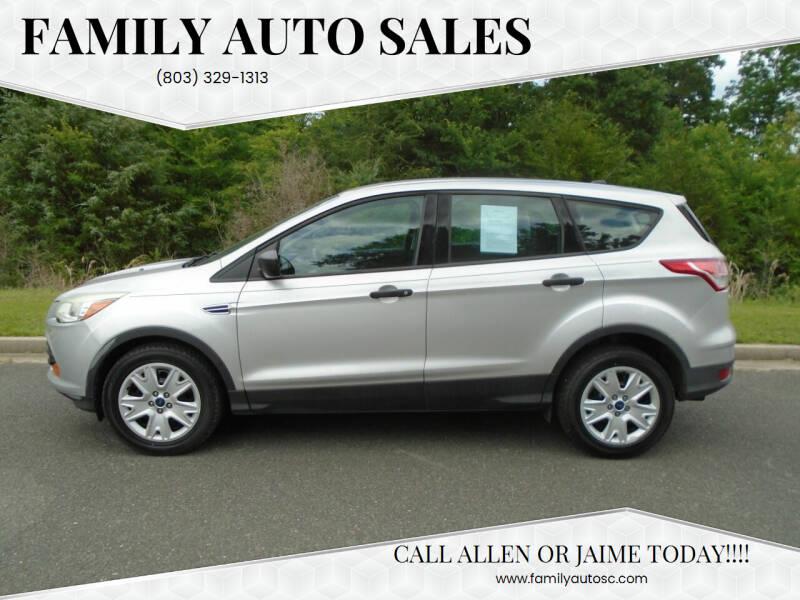 2014 Ford Escape for sale at Family Auto Sales in Rock Hill SC