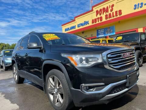 2017 GMC Acadia for sale at Popas Auto Sales in Detroit MI