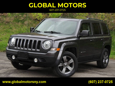 2015 Jeep Patriot for sale at GLOBAL MOTORS in Binghamton NY