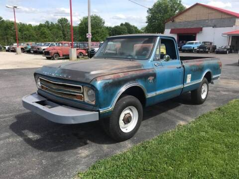 1967 Chevrolet C/K 20 Series for sale at FIREBALL MOTORS LLC in Lowellville OH