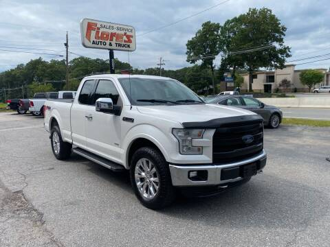 2015 Ford F-150 for sale at FIORE'S AUTO & TRUCK SALES in Shrewsbury MA