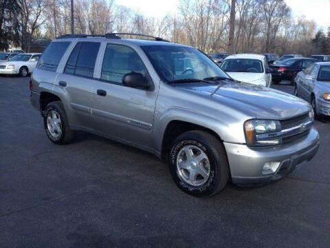 2003 Chevrolet TrailBlazer for sale at All State Auto Sales, INC in Kentwood MI