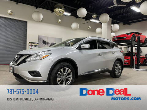 2016 Nissan Murano for sale at DONE DEAL MOTORS in Canton MA