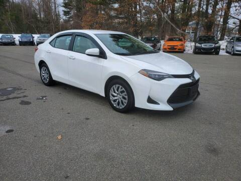 2019 Toyota Corolla for sale at Pelham Auto Group in Pelham NH