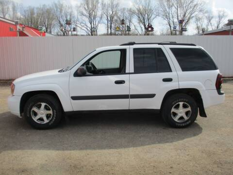 2005 Chevrolet TrailBlazer for sale at Chaddock Auto Sales in Rochester MN