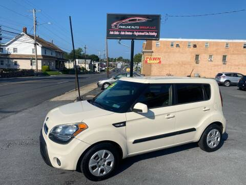 2012 Kia Soul for sale at Fineline Auto Group LLC in Harrisburg PA