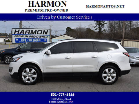2017 Chevrolet Traverse for sale at Harmon Premium Pre-Owned in Benton AR