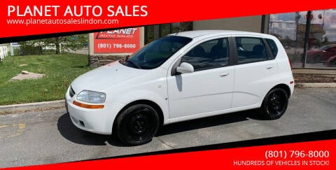 2007 Chevrolet Aveo for sale at PLANET AUTO SALES in Lindon UT