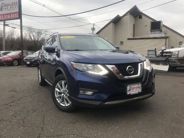 2017 Nissan Rogue for sale at PAYLESS CAR SALES of South Amboy in South Amboy NJ