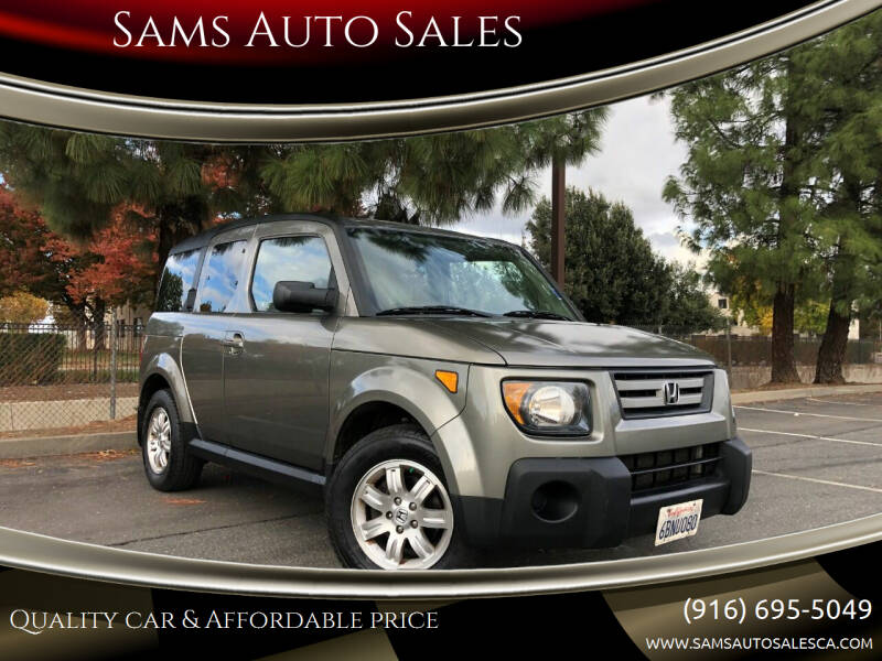 2008 Honda Element for sale at Sams Auto Sales in North Highlands CA