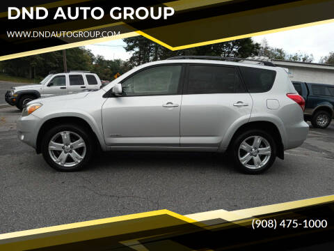 2008 Toyota RAV4 for sale at DND AUTO GROUP 2 in Asbury NJ