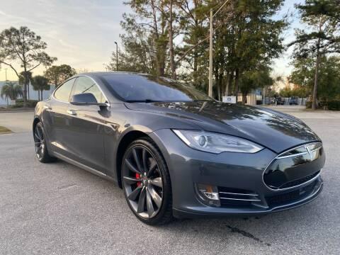 2014 Tesla Model S for sale at Global Auto Exchange in Longwood FL